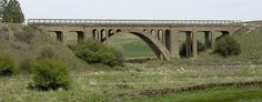 Rosalia railroad bridge [1915 - Rosalia, Washington, USA]