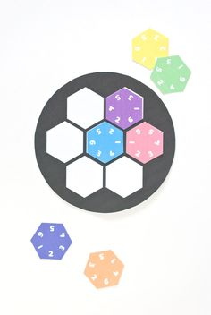 Printable Hexagon Puzzle Game // wild olive
