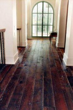 rustic hardwood floors