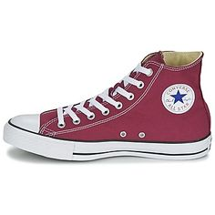 Basket montante Converse CHUCK TAYLOR ALL STAR SEASONAL  HI Bordeaux 350x350