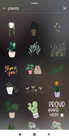 Gif Instagram, Plants, Ideas, Plant, Thoughts, Planets