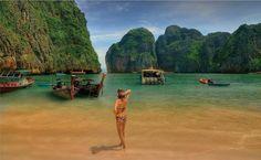 Isola Phi - Phi,Krabi,Thailandia