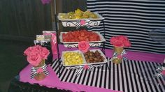Kate spade cake table