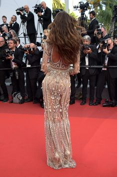 CANNES, FRANCE - MAY 24:  Izabel Goulart attends the 'The Beguiled' screening during the 70th annual Cannes Film Festival at Palais des Festivals on May 24, 2017 in Cannes, France.  (Photo by Pascal Le Segretain/Getty Images) via @AOL_Lifestyle Read more: https://www.aol.com/article/entertainment/2017/05/24/izabel-goulart-appears-naked-at-2017-cannes-film-festival/22108063/?a_dgi=aolshare_pinterest#fullscreen