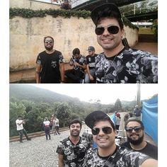 Gravação rolando do novo videoclipe da banda em Poços de  Caldas!! Vem mais coisinhas aí... #selfie #DDTclipe DDT ⌚ @31clothing