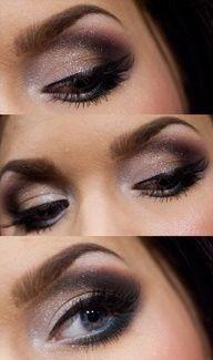 deep purple dark eyeshadow
