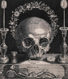 Memento Mori (c. 1673 / Etching) - Attributed to Gerhart Altzenbach