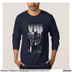 Batman | Vigilante Typography Shirt
