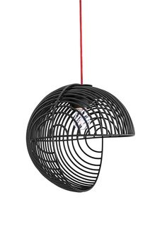 A Pendant Lamp Inspired by Op Art