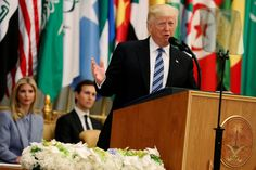 President Donald Trump will use the nation that is home to Islam's holiest site as a backdrop to call for Muslim unity in the fight against terrorism Sunday, as he works to build relationships with Arab leaders.