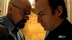 """Walter White & Saul Goodman.  """" We're Done When I Say We're Done """"  !"""