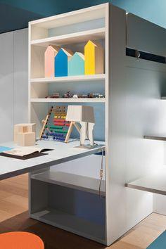 Bookcase for loft bed – Battistella