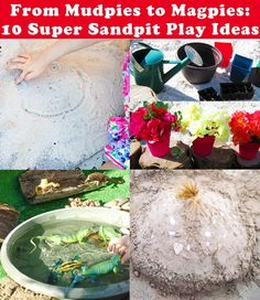 Post image for From Mudpies to Magpies: 10 Super Sandpit Ideas Outdoor Play Spaces, Kids Outdoor Play, Outdoor Learning, Outdoor Fun, Creative Activities For Kids, Toddler Activities, Fun Activities, Outdoor Activities, Sandpit Ideas
