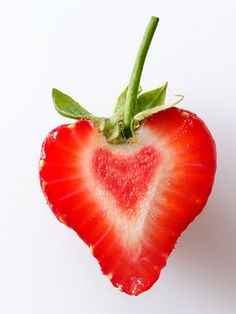 #heart #fruit #strawberry