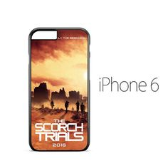 Maze Runner Scorch Poster iPhone 6 Case