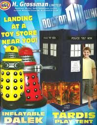 inflatable Dalek and Tardis play tent  sc 1 st  Pinterest & TARDIS v. Dalek Salt and Pepper Shaker | Dalek Tardis and Geek stuff