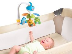 Amazon.com : Tiny Love Take Along Mobile, Animal Friends, Blue : Baby Stroller Toys : Baby