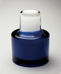 Frntisek Vizner, Glass vase, 1967