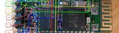 JY-MCU BT_BOARD V1.06 Top Side Details Extended