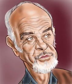 Sean Connery by ~adavis57 on deviantART