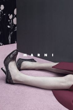 Marni Fall/Winter 2015-16 Ad Campaign by Jackie Nickerson.