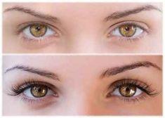 Photo about Beautiful eyes with natural eyelashes to and false eyelashes after. Image of fiber, eyes, eyeliner - 11335355 Long Thick Eyelashes, Thicker Eyelashes, Natural Eyelashes, Longer Eyelashes, Grow Eyelashes, Perfect Eyelashes, Natural Eyeliner, Thick Eyebrows, Natural Eyes