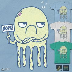 NOPETOPUS! on Threadless