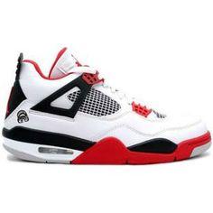 san francisco 1a635 a0ebd 2013 New Mars Blackmon (White   Varsity Red - Black) Air Jordan 4 (IV)  Retro Sports Shoes Store