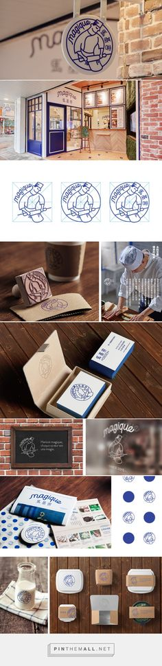 magique-Brand identity on Behance... - a grouped images picture - Pin Them All