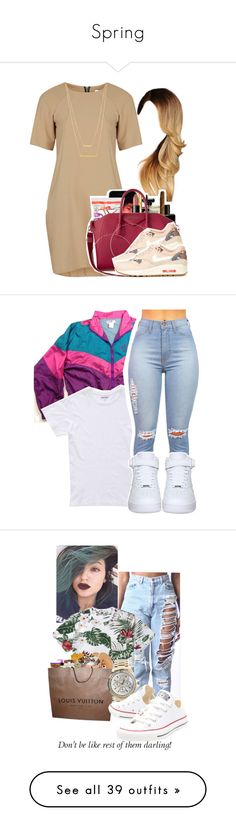 """""""Spring"""" by laiixo ❤ liked on Polyvore featuring Rare London, ASOS, NIKE, Jennifer Zeuner, beauty, Bonobos, Penfield, Juicy Couture, Converse and MANGO"""