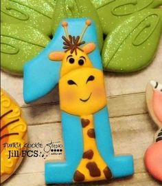 Galletas - Cookies - Giraffe cookie