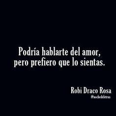 RObi Draco: amor