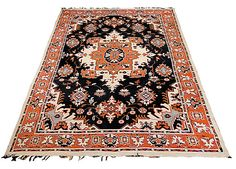 Welcome to our online shop! Offered here is an Uzbek nomadic flat woven rug. Since ancient times nomadic tribes took one of the most important part in Uzbek history and traditions. Nomadic culture rendered a great influence to Uzbek applied art. There were very many of nomad decorative articles which became very popular for home decoration. The rug was made in Kashkadaria region, Uzbekistan. Circa: middle of the 20th century. The pattern of the item is composed of the Persian motifs. It is…