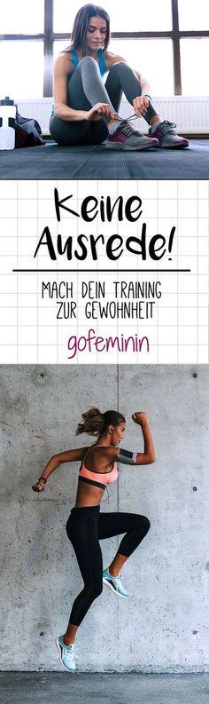 Mach dein Training zur Gewohnheit und gewinne dadurch endlich den Kampf gegen deinen inneren Schweinehund. (Diet Workout Motivation)