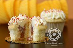 Cupcake de romeu e julieta.