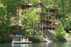 $3000 for 6/16-6/20. Lake Nantahala Vacation Rental - VRBO 320906 - 4 BR Smoky Mountains Cabin in NC, Awesome Lake Front Home W/ Mountain View. Wifi, Game Room, ...