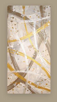 RESERVED Art PaintingAbstractAcrylicCanvas by OraBirenbaumArt