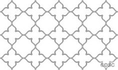 """Gothic Tracery - Tracery Only - 30"""" Version - No Medallion 2964-30-TRACERY"""