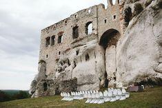 ruins wedding ceremony  fot. Rutko