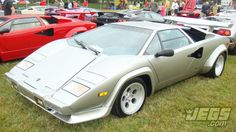 How many of you had a model or poster of a Lamborghini Countach at some point in your life? Is it considered an 80's exotic icon?  This 1982 model is one of many unique cars owned by JEGS customer, Putsch Racing.