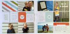 Pages created by Tully Reynolds featuring the Cathy Zielske Value Kit.