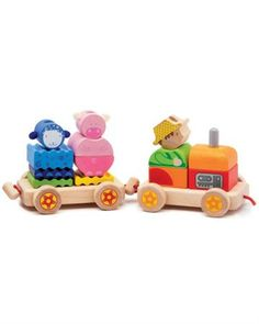 Djeco Паровозик Ферма  — 4179р. -------------------------------- Деревянный конструктор Djeco Паровозик Ферма совмещает в себе несколько игрушек: паровозик-каталку с веревочкой и конструктор. Изготовлен из экологически чистых материалов.