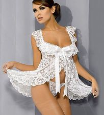 Womens Lace Sexy Lingerie Sleepwear Underwear Nightwear Dress Plus Size XXL Via Ebay