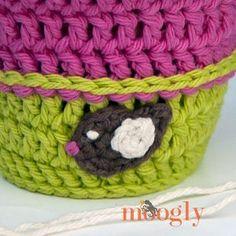 Cute Crocheted Bird Applique | AllFreeCrochet.com