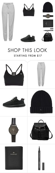 """""""Early Mornings"""" by forestfauna on Polyvore featuring NIKE, Topshop, adidas Originals, Dr. Martens, Princess Carousel, FOSSIL, GAB, women's clothing, women and female"""
