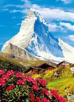 Fototapet 00373 Matterhorn