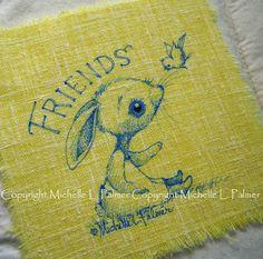 Michelle Palmer: fabric illustrations