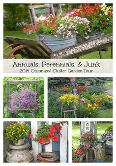 Annual garden tour from Organized Clutter