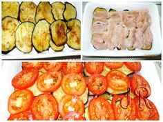 Piept de pui cu vinete si rosii la cuptor   Jurnal de reţete Zucchini, Vegetables, Food, Recipes, Essen, Vegetable Recipes, Meals, Yemek, Eten