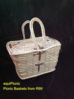 Eco friendly palm leaf picnic basket that is also kind on the pocket. From ZAR 99. www.equipicnic.co.za